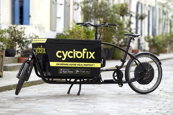 Cyclofix, la réparation de vélo à la demande