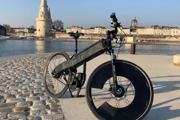 Innovation : vélo électrique à énergie solaire