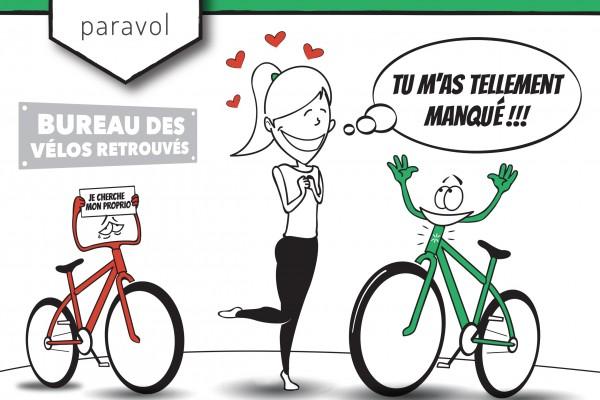 isabelleetlevelo.fr : le marquage des vélos démarre freins bloqués